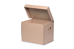 A paper box Stock Images