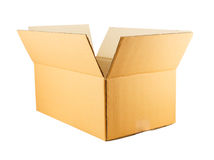 Paper box isolated on white background Royalty Free Stock Image