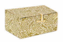 A paper box. Royalty Free Stock Photography