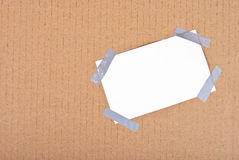 Paper box post Royalty Free Stock Photography
