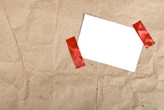 Paper box post package Stock Photos
