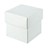 Paper box on white background Stock Images
