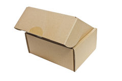 Paper Box. Paper Box On White Background Royalty Free Stock Image