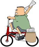 Paper boy Stock Images
