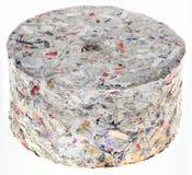 Paper Briquette Cutout Royalty Free Stock Image