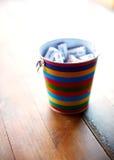 Paper bucket Stock Photos