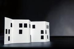 Paper building Stock Photos