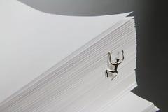 paper bunt för klättringman Royaltyfri Bild