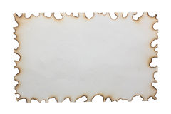 Paper burns Stock Photos