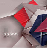 Paper business triangles abstract background Royalty Free Stock Photography