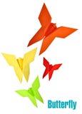 Paper butterflies Stock Image