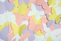 Paper butterflies Royalty Free Stock Photo