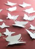 Paper butterflies Royalty Free Stock Photography