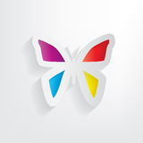 Paper Butterfly, concept background Royalty Free Stock Photos