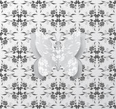 Paper butterfly Royalty Free Stock Images