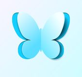 Paper butterfly. Stock Photos