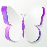 Paper butterfly Royalty Free Stock Photos