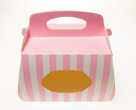 Paper cake Box Royalty Free Stock Images