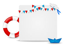 Paper card Royalty Free Stock Images