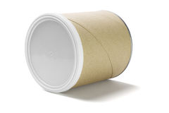 Paper Cardboard Container Royalty Free Stock Photo