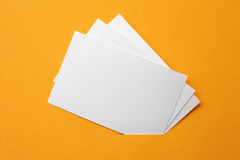 Paper cards Royalty Free Stock Photo