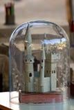 Paper castle Stock Photo