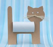 Paper cat Royalty Free Stock Photography