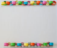 Paper Chain Border Stock Photography