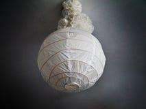 Paper chandelier stock image