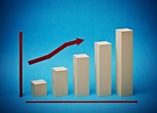 Paper chart Stock Photos