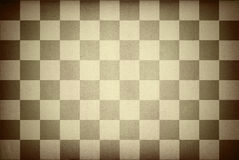 Paper chessboard Royalty Free Stock Photography