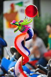 Paper Chinese dragon. Toy  for child Stock Images