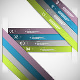 Paper choice template Royalty Free Stock Images