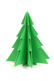 Paper christmas tree Stock Photos