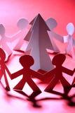 Paper Christmas tree Royalty Free Stock Image
