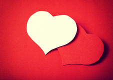 Paper classic love Royalty Free Stock Photos