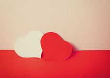 Paper classic love Stock Photography
