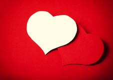 Paper classic love Royalty Free Stock Photography