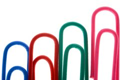 Paper-clip stock photos