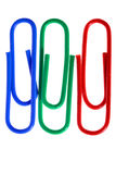 Paper-clip royalty free stock photo