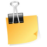 Paper clip Stock Image