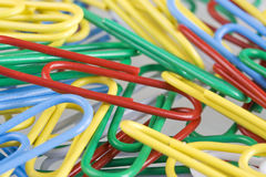 Paper clip Royalty Free Stock Photo