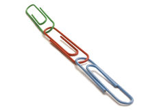 Paper clip Royalty Free Stock Photography