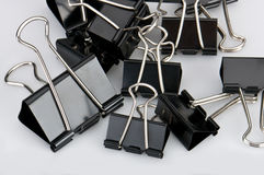 Paper clip background Royalty Free Stock Image