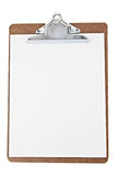 Paper clip board Stock Photography