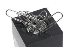 Paper Clip Holder Stock Photos