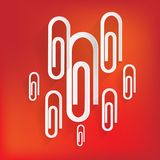 Paper clip icon Royalty Free Stock Photo