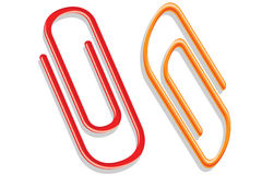 Paper Clip Stock Photo