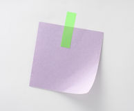 Paper-clip isolated, clipping path Stock Photos