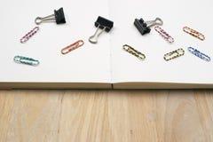 Paper-clip vertical Fotografia de Stock